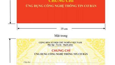 Photo of Chứng chỉ tin học cơ bản – Lịch thi, trường thi chuẩn bộ Giáo Dục