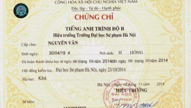 Photo of Các chứng chỉ tiếng anh được công nhận tại Việt Nam 2020