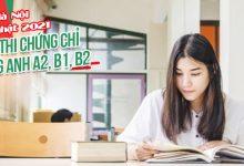 Photo of Lịch Thi Chứng Chỉ Tiếng Anh A2 B1 B2 Đại Học Hà Nội