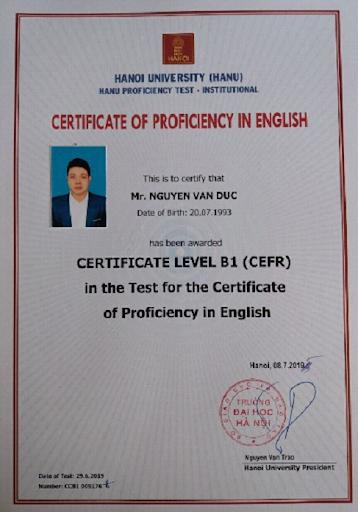 Lịch Thi Chứng Chỉ Tiếng Anh A2 B1 B2 Đại Học Hà Nội